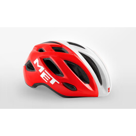 MET Idolo Casque, red/white